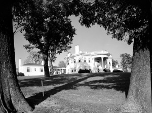 Allandale Mansion, 1955. Photo by David Peirce.