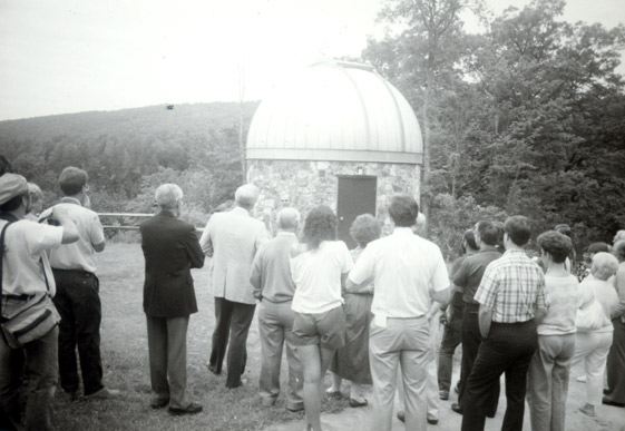 Ground Opening of the Observatory, 1971.
