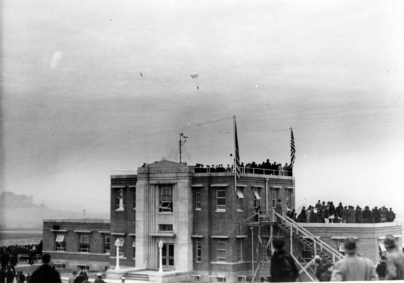 Dedication exercises of the Tri-Cities Airport, November 5, 1937.
